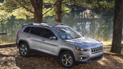 New Jeep Cherokee for Oz