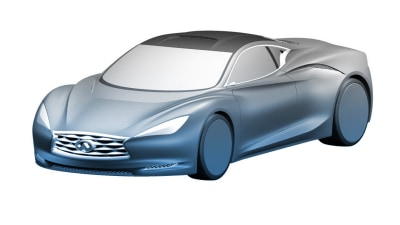 Infiniti Emerg-E Sports Hybrid Concept Revealed In Patent Images