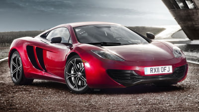 McLaren MP4-12C Spider Due For 2012 Debut: Report