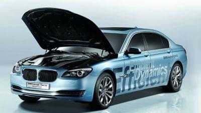BMW Hybrid 7 Series Production Model to Debut in Frankfurt?