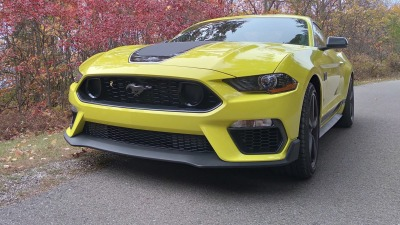 2021 Ford Mustang Mach 1 scores minor design tweaks as production approaches