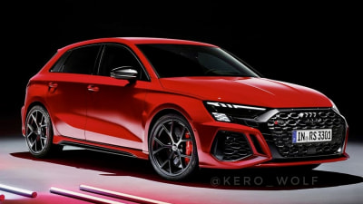 2022 Audi RS3 Sportback leaks ahead of reveal