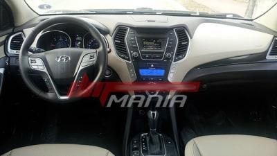 2013 Hyundai Santa Fe Interior Revealed Further
