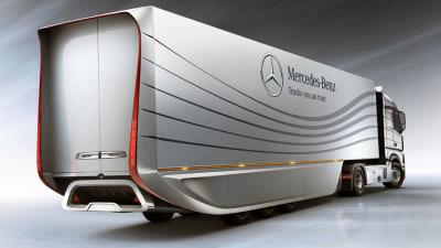 Mercedes-Benz Reveals Green-focused Aero Trailer Concept