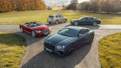 Bentley records highest sales in 101 years
