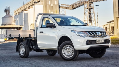 Mitsubishi Triton - New Petrol Variants For 2016 And New Entry-Level Model