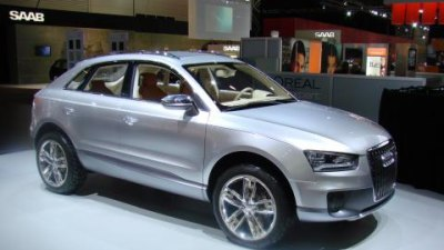 Audi Cross Coupe at the 2008 Melbourne Motor Show
