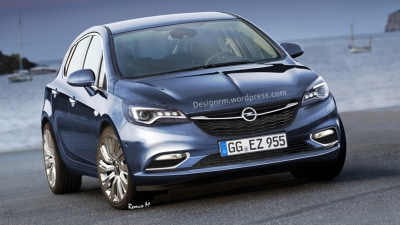 Rendered: 2016 Opel Astra