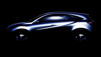Honda Teases SUV Concept Ahead Of Detroit Unveiling