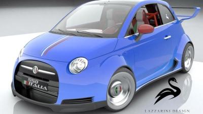 Dream Big: Lazzarini Reveals Plans For Ferrari V8-powered Fiat 500