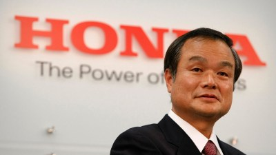 Honda Boss Ousted In Company-wide Management Shuffle