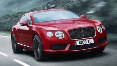 Bentley Continental GT V8 Revealed