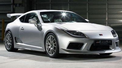 Gazoo Racing Reveals Toyota 86 GRMN Sports FR Concept Platinum