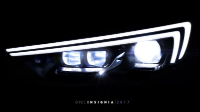 Opel Teases New LED Headlights... Coming In The Next Holden Commdore?