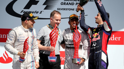 2014 British F1 GP: Hamilton Strikes Back For Win, Ricciardo Third