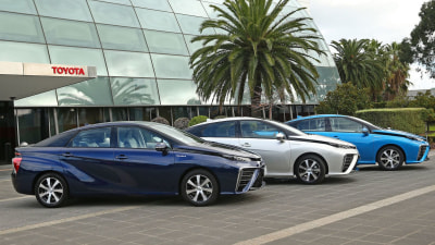 Toyota Mirai Test Fleet Arrives In Australia