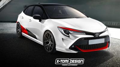 Toyota GR Corolla, C-HR GR-Sport trademarks appear in Australia