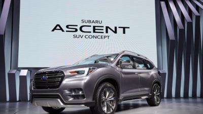 Subaru Rejoins Large SUV Segment With Ascent Concept