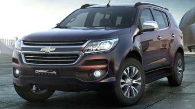 Holden Trailblazer Scores 5-Star ANCAP Safety Rating