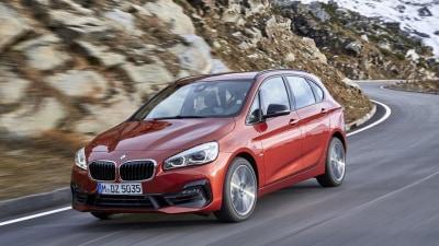 2018 BMW 2-Series Active Tourer Revealed