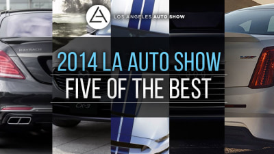 2014 LA Auto Show: Five Of The Best (And A Few More)