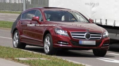 Mercedes-Benz CLS Shooting Brake Spied Testing
