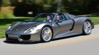 Porsche recalls 918 Spyder For Chassis Defect