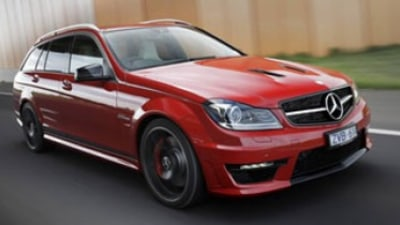Mercedes-Benz C63 AMG Edition 507 Estate first drive review