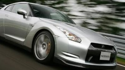 Nissan GT-R lapping the Nurburgring official video
