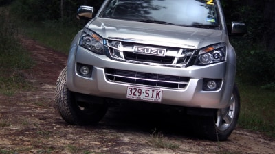 2012 Isuzu D-Max LS-U And SX Crew-Cab and Space Cab Ute Launch Review
