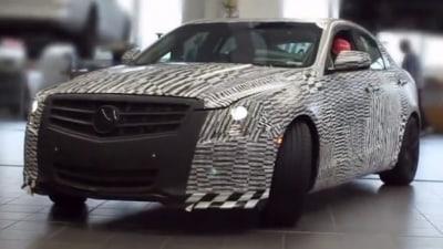 Cadillac ATS Hits The Nurburgring: Video