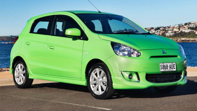 Mitsubishi Mirage Goes For Mean Green Machine Style