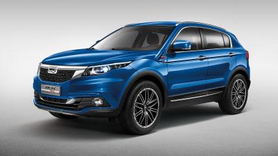 Qoros 5 SUV Unveiled at Guangzhou Motor Show