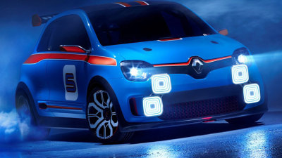 Renault Twin'Run Powerhouse Teases New Twingo City Car: Video