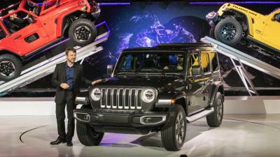 Jeep confirms plug-in hybrid Wrangler