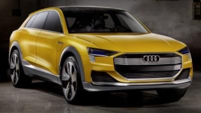New Audi h-tron quattro revealed