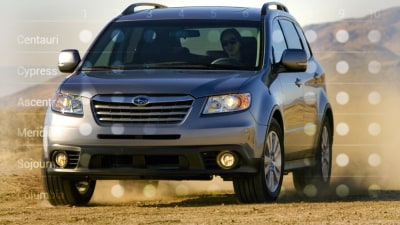 Subaru Tribeca: Buyers Surveyed On Six Names For Replacement SUV