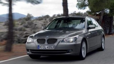 2009 BMW 555i to feature twin-turbo V8 power