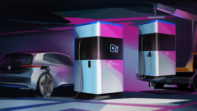 The portaloo that could charge your next car