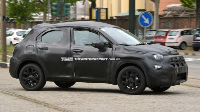 Fiat 500X Crossover Spied Testing