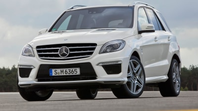 2012 Mercedes-Benz ML 63 AMG On Sale In Australia From June