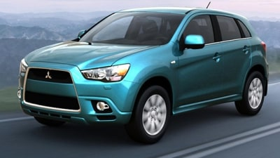 2010 Mitsubishi RVR / ASX Interior Revealed In Leaked Brochure Images