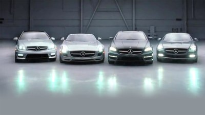 2012 C-Class Coupe And SLS AMG Roadster Revealed In New TV Spot
