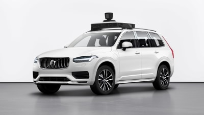 Volvo and Uber reveal production self-driving XC90