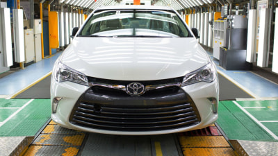 First New-Look 2015 Camry Rolls Off Australian Production Line