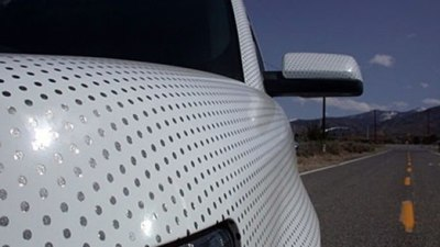 Turning A Car Into A Golf Ball For Improved Fuel Economy… Say What?