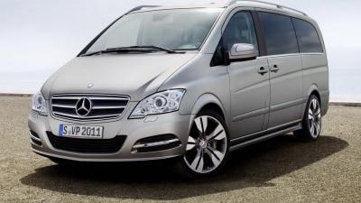 Mercedes Viano Vision Pearl Headed To Frankfurt