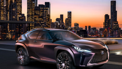 Lexus Confirms BMW X1 Rival