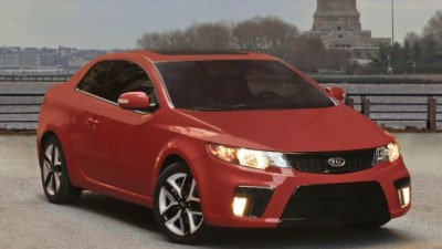 2010 Kia Forte Koup Breaks Cover In New York