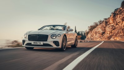 Bentley Continental GT convertible revealed